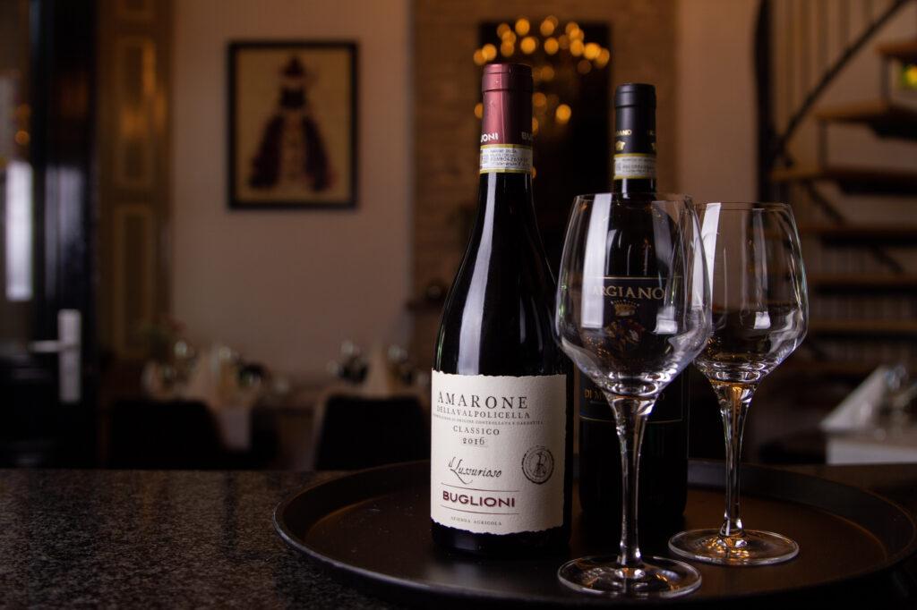 Selectie van wijnen